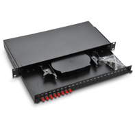 19″ cabinet optic fiber distribution box