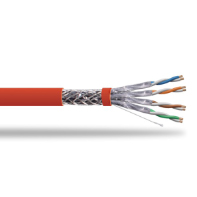 S/FTP Shielded CAT 7A Twisted Pair Installation Cable