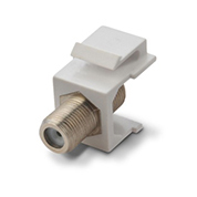 KS-02 Face plate RJ45 insert f-81  connector(nickel plating)