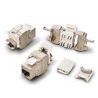 M243 CAT5e Keystone jack shielded