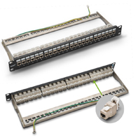P199-24-1 CAT 6 shielded  patch panel