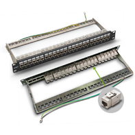 P200-24-1 CAT 6A shielded  patch panel
