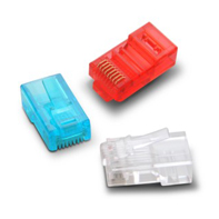 S901A Cat.5e Modular Plug 8P8C  3U-50U	 Unshielded